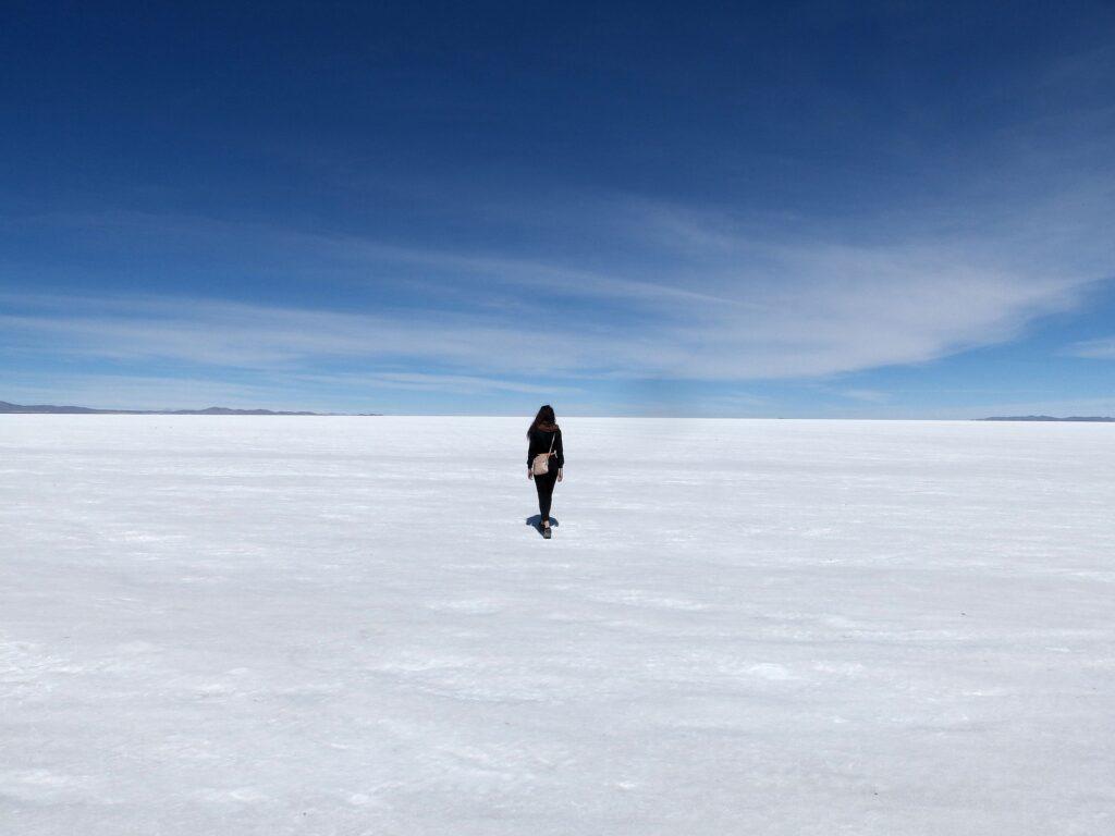 Bolivian salt flats visit to Uyuni